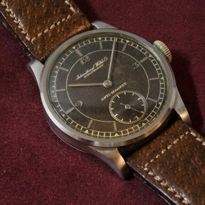 IWC カラトラバ Secter Design Brown Dial