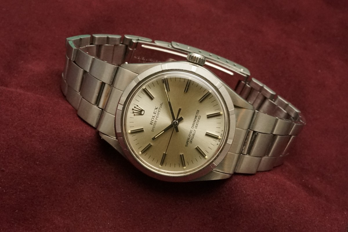 new arrival 01163 3f24e ロレックス OYSTER PERPETUAL Ref-1003(RO-37/1972年 ...