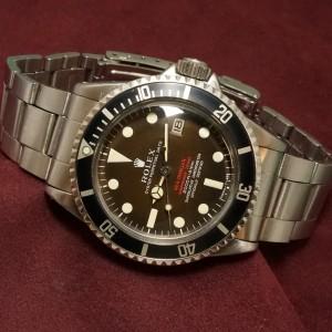 ロレックス RED シードゥエラー Ref-1665 Mark-2 Brown DIAL