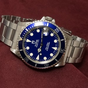 チュードル BOY'S-サブマリーナ Ref-75190 Blue Mint-condition!