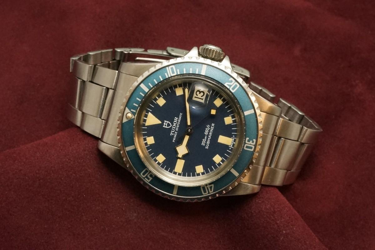 チュードル サブマリーナ 9411/0 Blue Snowflake(RS-56/1977年)