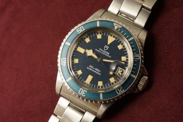 チュードル サブマリーナ 9411/0 Blue Snowflake(RS-56/1977年)の詳細写真5枚目