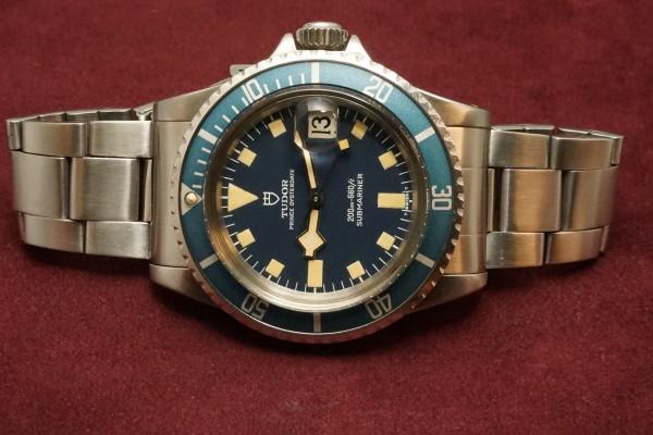 チュードル サブマリーナ 9411/0 Blue Snowflake(RS-56/1977年)の詳細写真6枚目