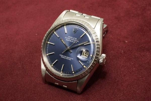 ロレックス DATEJAST Ref-1603 Blue Dial(RO-09/1967年)の詳細写真3枚目