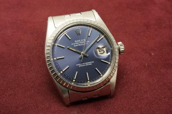 ロレックス DATEJAST Ref-1603 Blue Dial(RO-09/1967年)の詳細写真4枚目