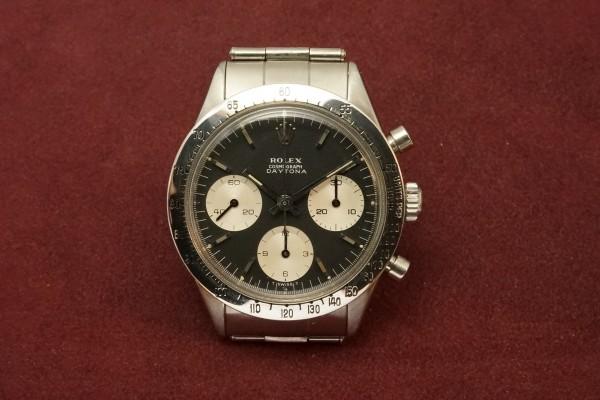 ロレックス COSMOGRAPH Ref-6239 Jumbo デイトナ Black Dial(RS-11/1967年)の詳細写真2枚目