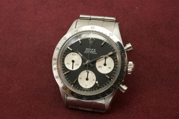 ロレックス COSMOGRAPH Ref-6239 Jumbo デイトナ Black Dial(RS-11/1967年)の詳細写真3枚目