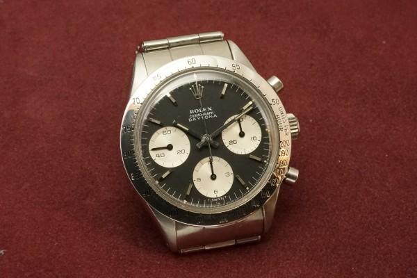 ロレックス COSMOGRAPH Ref-6239 Jumbo デイトナ Black Dial(RS-11/1967年)の詳細写真4枚目