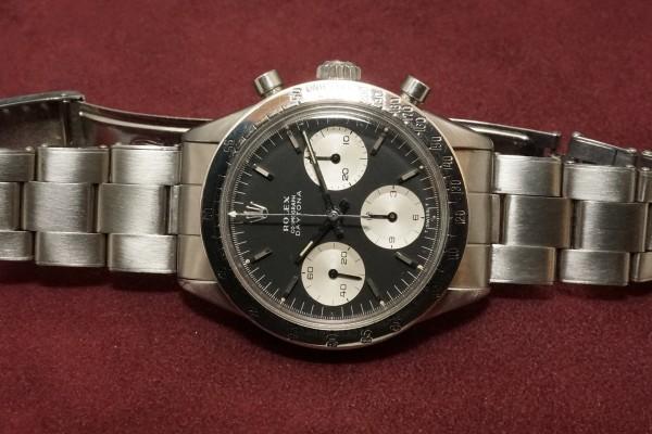 ロレックス COSMOGRAPH Ref-6239 Jumbo デイトナ Black Dial(RS-11/1967年)の詳細写真6枚目