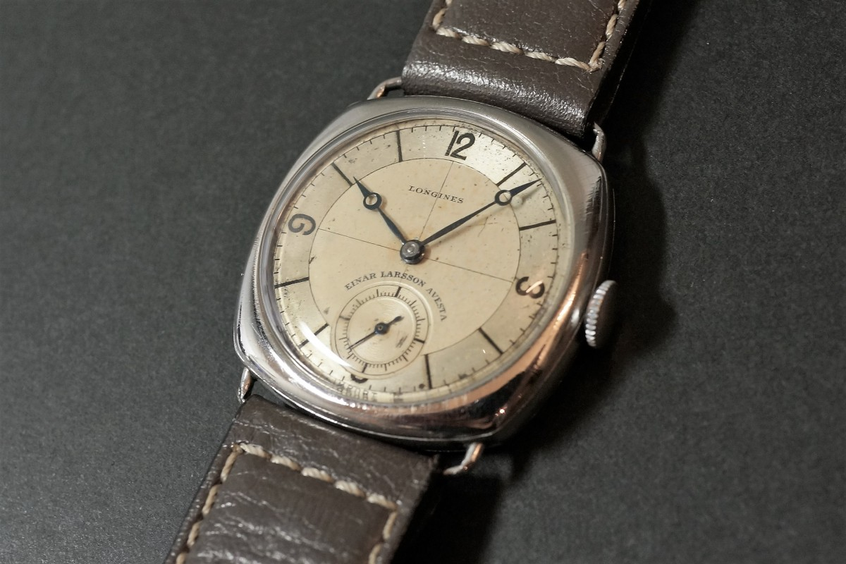 LONGINES Sector Cushion(OT-05/1935年)