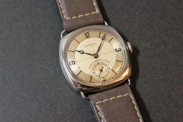LONGINES Sector Cushion(OT-05/1935年)の詳細写真2枚目