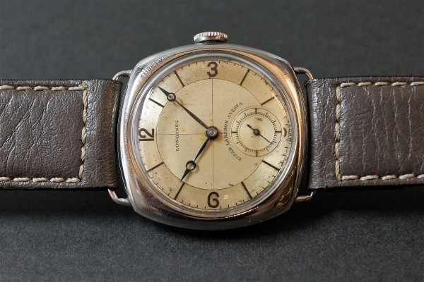 LONGINES Sector Cushion(OT-05/1935年)の詳細写真3枚目