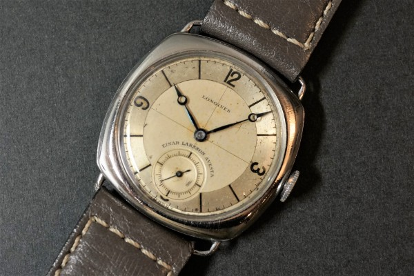 LONGINES Sector Cushion(OT-05/1935年)の詳細写真4枚目