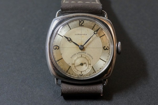 LONGINES Sector Cushion(OT-05/1935年)の詳細写真5枚目