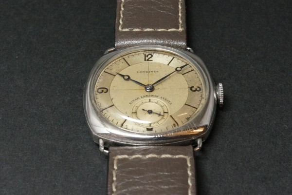 LONGINES Sector Cushion(OT-05/1935年)の詳細写真8枚目