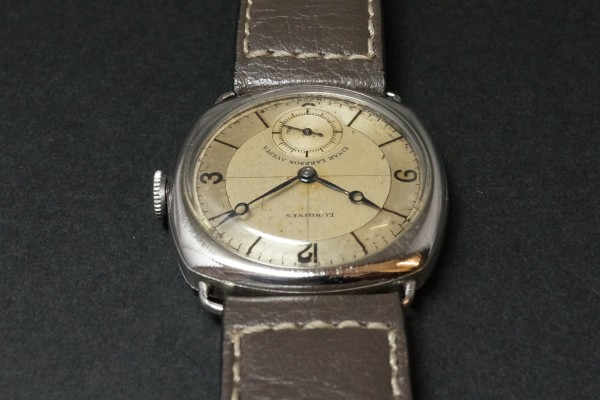 LONGINES Sector Cushion(OT-05/1935年)の詳細写真9枚目