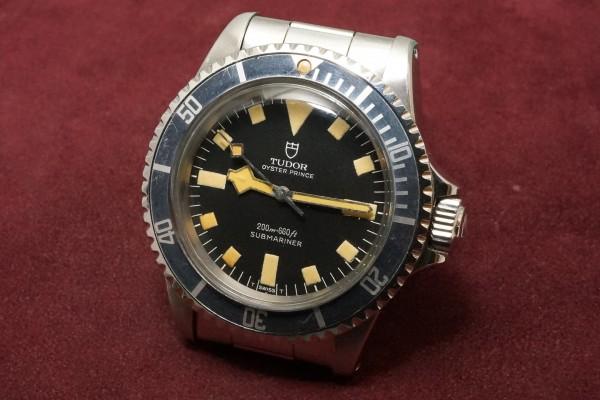 チュードル サブマリーナ Ref-7016/0 Black Snowflake(RS-30/1974年)の詳細写真3枚目