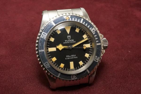 チュードル サブマリーナ Ref-7016/0 Black Snowflake(RS-30/1974年)の詳細写真4枚目