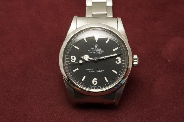 ロレックス EXPLORER Ref-1016 Matte Dial(RS-81/1969年)の詳細写真2枚目