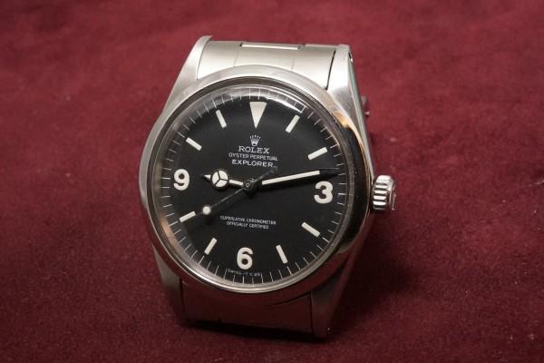 ロレックス EXPLORER Ref-1016 Matte Dial(RS-81/1969年)の詳細写真3枚目
