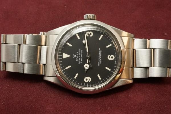 ロレックス EXPLORER Ref-1016 Matte Dial(RS-81/1969年)の詳細写真6枚目