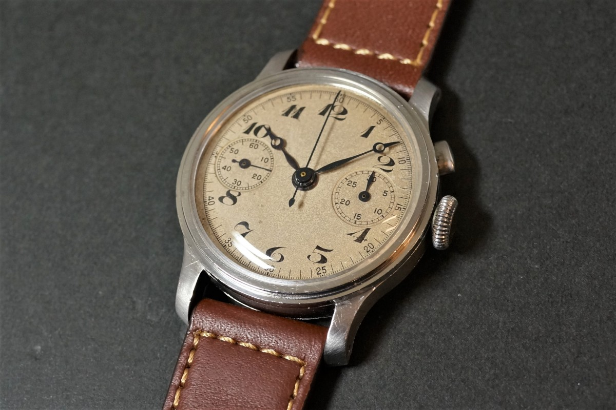 Anonymous クロノグラフ Breguet numerals Step Case(CH-01/1930s)