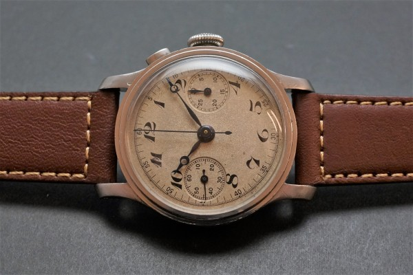 Anonymous クロノグラフ Breguet numerals Step Case(CH-01/1930s)の詳細写真3枚目