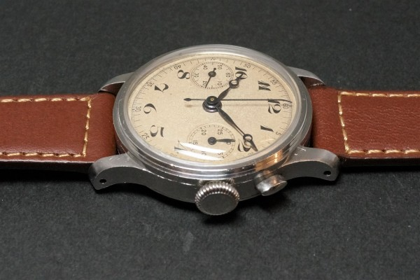 Anonymous クロノグラフ Breguet numerals Step Case(CH-01/1930s)の詳細写真7枚目