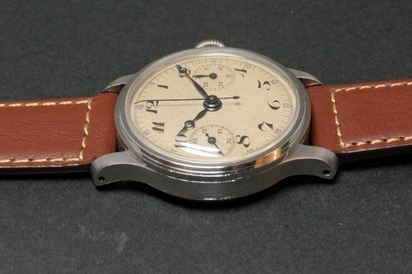 Anonymous クロノグラフ Breguet numerals Step Case(CH-01/1930s)の詳細写真8枚目