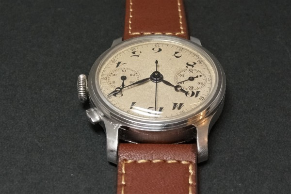 Anonymous クロノグラフ Breguet numerals Step Case(CH-01/1930s)の詳細写真10枚目