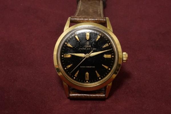 チュードル AIR-TIGER Ref-7957 Honeycomb/Gilt Dial Near Mint-condition!(RO-42/1960年)の詳細写真2枚目