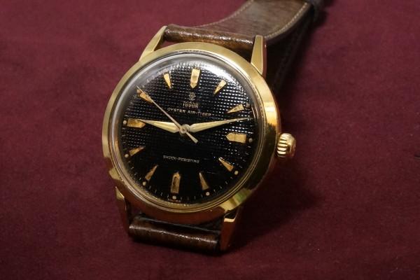 チュードル AIR-TIGER Ref-7957 Honeycomb/Gilt Dial Near Mint-condition!(RO-42/1960年)の詳細写真3枚目