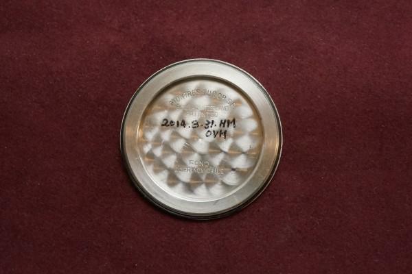 チュードル AIR-TIGER Ref-7957 Honeycomb/Gilt Dial Near Mint-condition!(RO-42/1960年)の詳細写真8枚目
