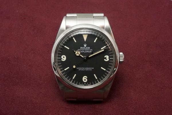 ロレックス EXPLORER Ref-1016 Fat Luminous 369!(RS-54/1967年)の詳細写真2枚目