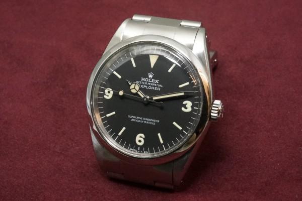 ロレックス EXPLORER Ref-1016 Fat Luminous 369!(RS-54/1967年)の詳細写真3枚目