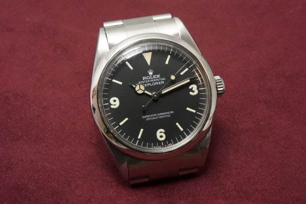 ロレックス EXPLORER Ref-1016 Fat Luminous 369!(RS-54/1967年)の詳細写真4枚目