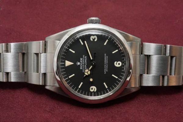 ロレックス EXPLORER Ref-1016 Fat Luminous 369!(RS-54/1967年)の詳細写真6枚目