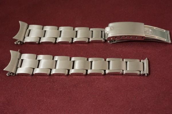 ロレックス BOY'S OYSTERDATE Ref-6466 Honeycomb Dial(RO-50/1955年)の詳細写真9枚目