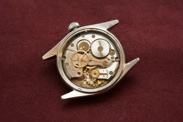 ロレックス BOY'S OYSTERDATE Ref-6466 Honeycomb Dial(RO-50/1955年)の詳細写真12枚目