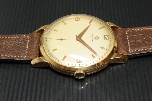 オメガ Ref.2687 Cal-266 Oversaized 37.5m 18KYG Rare(OT-08/1954年)の詳細写真6枚目