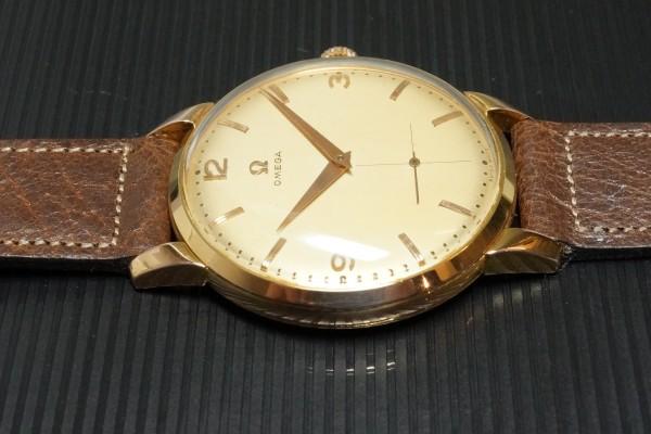 オメガ Ref.2687 Cal-266 Oversaized 37.5m 18KYG Rare(OT-08/1954年)の詳細写真7枚目