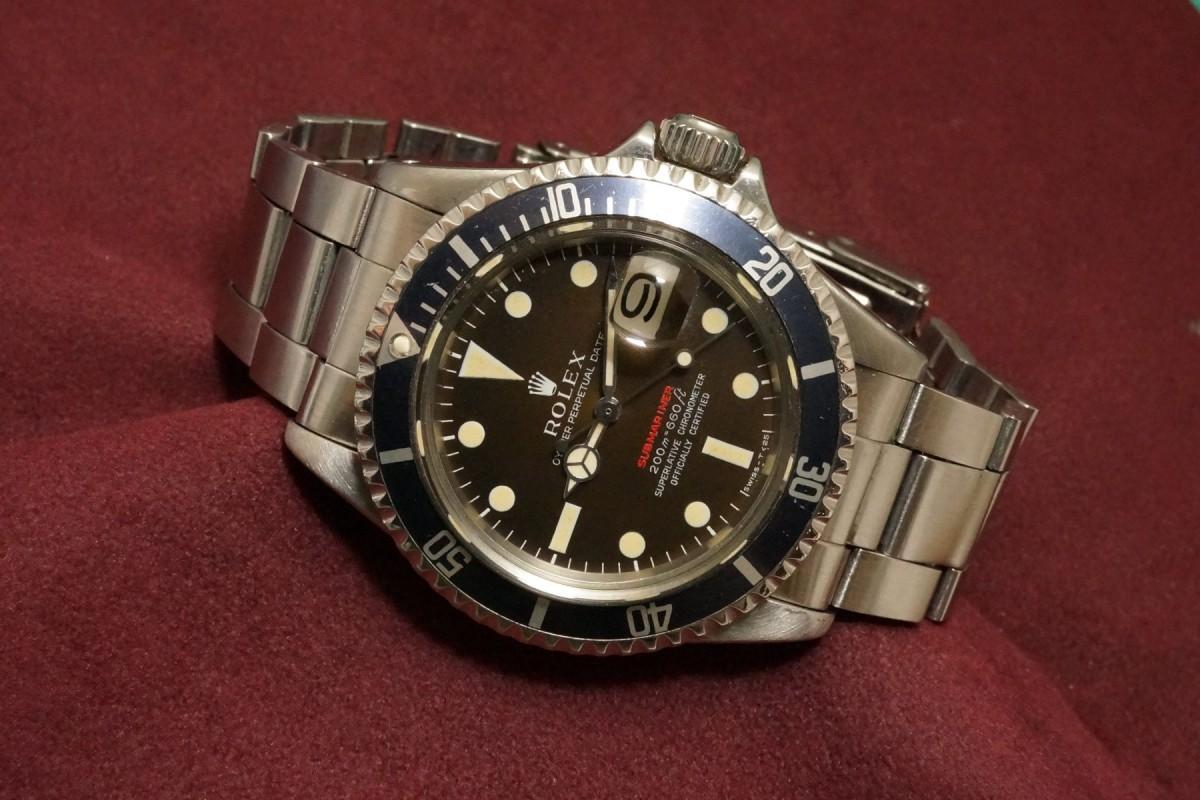 quality design 079ba d100f ロレックス 赤サブマリーナ Ref-1680 Mark-2 Brown Dial(RS-61 ...