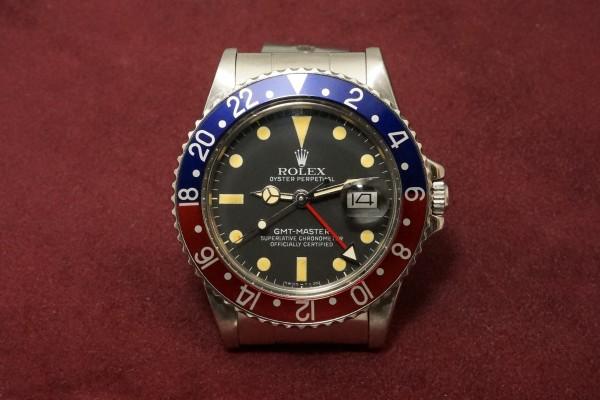 ロレックス GMTマスター Ref-16750 Matte Dial(RS-80/1981年)の詳細写真2枚目