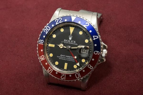 ロレックス GMTマスター Ref-16750 Matte Dial(RS-80/1981年)の詳細写真3枚目