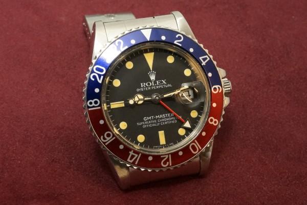ロレックス GMTマスター Ref-16750 Matte Dial(RS-80/1981年)の詳細写真4枚目