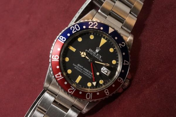 ロレックス GMTマスター Ref-16750 Matte Dial(RS-80/1981年)の詳細写真5枚目