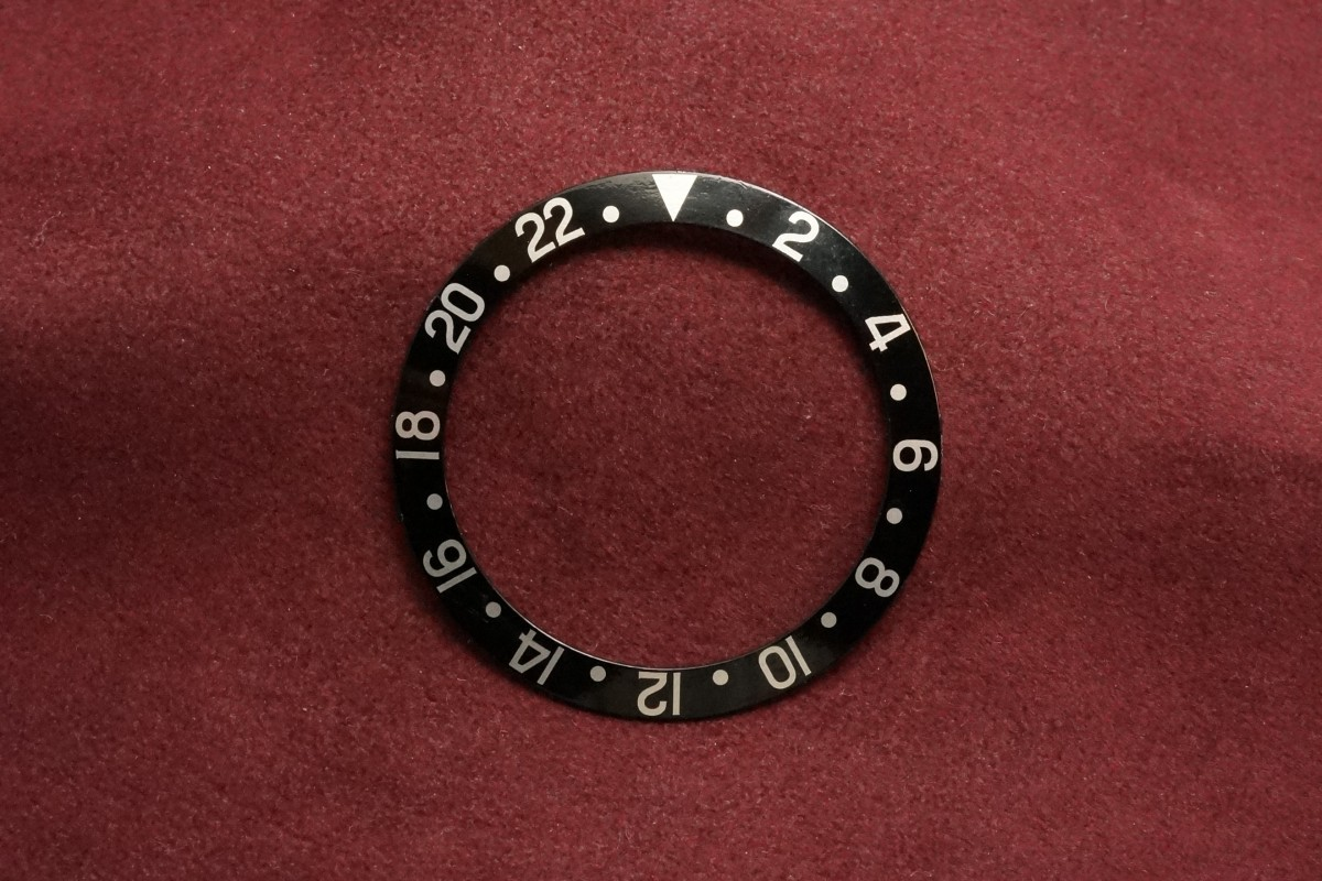 ロレックス GMTマスター Ref-1675・16750用  ブラックベゼルインサート(RP-01/)