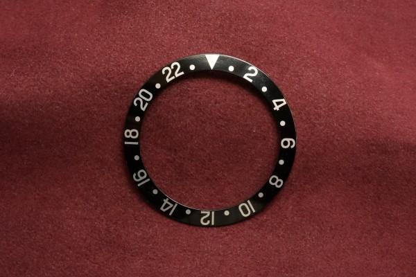 ロレックス GMTマスター Ref-1675・16750用  ブラックベゼルインサート(RP-01/)の詳細写真1枚目