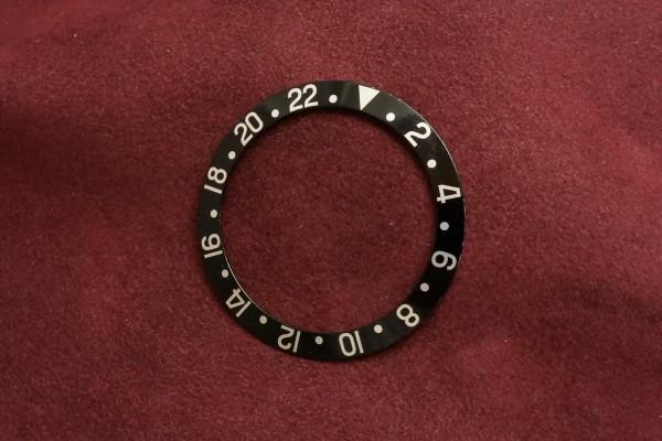 ロレックス GMTマスター Ref-1675・16750用  ブラックベゼルインサート(RP-01/)の詳細写真2枚目