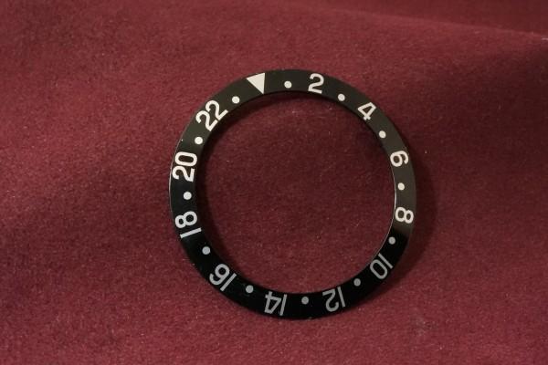 ロレックス GMTマスター Ref-1675・16750用  ブラックベゼルインサート(RP-01/)の詳細写真3枚目